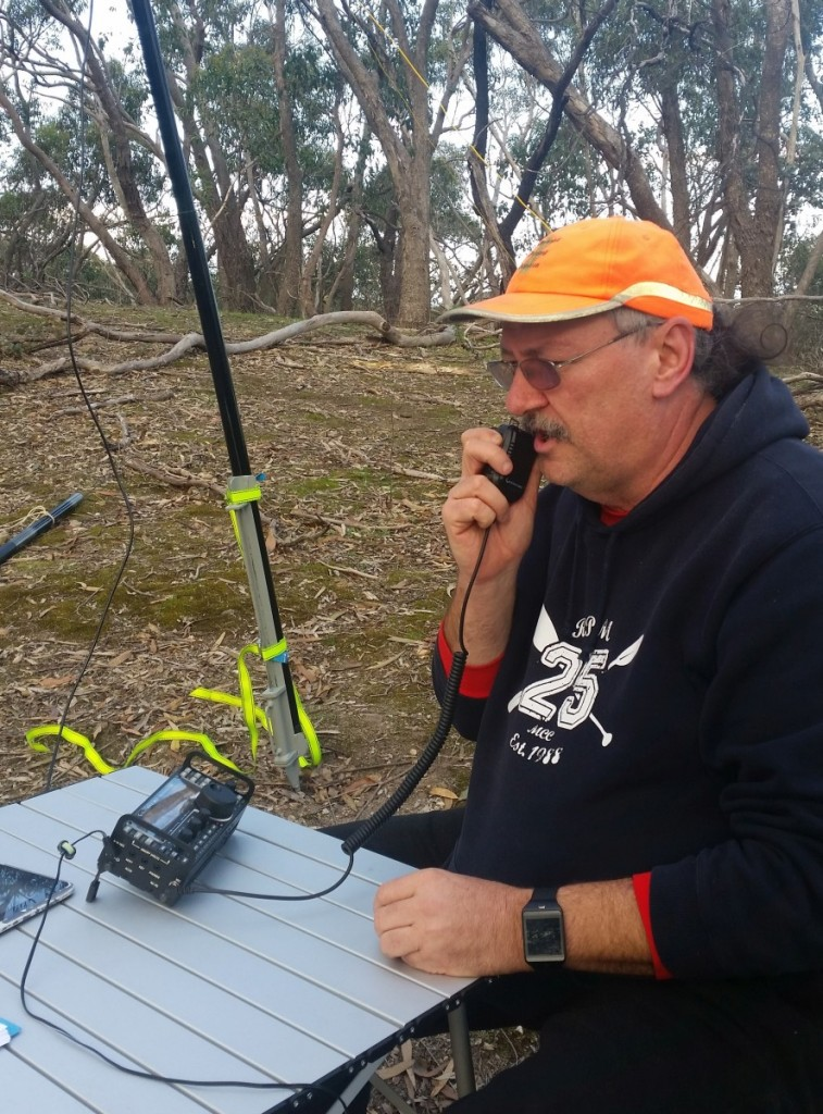 Calling CQ Parks on 20M